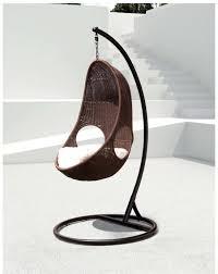 Indoor Hanging Swing Chair Egg Shaped Amazon Com Bertone U2013 Soft Touch Cozy Egg Shape Swing Chair Model