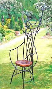 Black Rod Iron Patio Furniture Outdoor Wrought Iron Bench Benches Wrought Iron Outdoor Furniture
