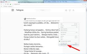 buat akun instagram via operamini cara terbaru upload foto atau video di instagram lewat browser pc