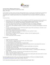 Health Education Resume All Source Intelligence Analyst Cover Letter