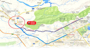 Map Location Hill View Housing Scheme Taxila Cantt Location U0026 Plot Prices