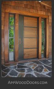 Exterior Door Wood Custom Wood Doors Entry Exterior Appwood Doors
