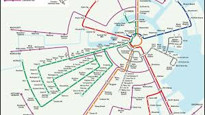 Boston College Map by Outside The Lines 6 Maps That Re Imagine Boston U0027s T Curbed Boston