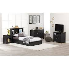 Twin Bed Ameriwood Platform Espresso Twin Bed Frame 5950303com The Home Depot