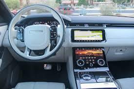 range rover dashboard first drive 2018 range rover velar u s spec automobile magazine