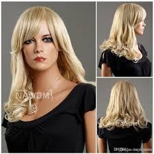 rinka hairdo mendium long blond hair wig miss wig weaves japanese