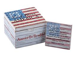 jim shore god bless america prayer box clearance