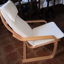 poltrona usata sedia ikea poang vendo per cambio appartamento impiallacciatura
