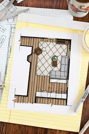 how to draw floor plan crtable