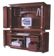 Computer Corner Armoire Office Desk Armoire Office Desk Million Dollar Rustic Home