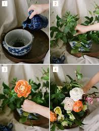 How To Make Floral Arrangements Diy Dutch Floral Arrangement Green Wedding Shoes Weddings