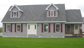 madison cape model on land with two car garage brookewood builders