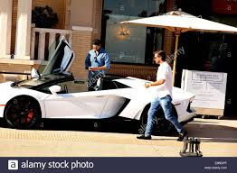 lamborghini aventador beverly disick leaves barneys york in beverly and drives
