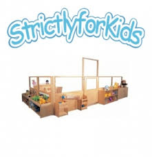 Room Dividers For Kids - premier room dividers with vision panels by strictly for kids