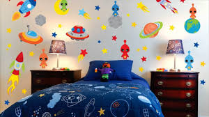 space theme room for kids youtube