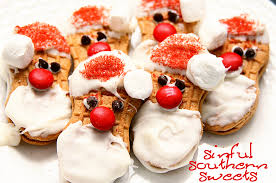 sinful southern sweets nutter butter santas u0026 free printable gift