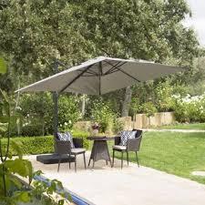 Grey Patio Umbrella Grey Patio Umbrellas You Ll Wayfair
