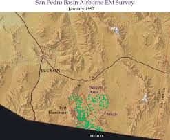Arizona Aquifer Map by Open File Report 99 7 B Chapter 2