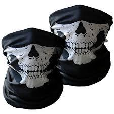 amazon com motorcycle masks 2 pieces xpassion skull mask