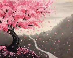 best 25 cherry blossom painting ideas on cherry