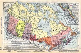 Map Alberta Canada by Of Canada And Newfoundland 1623 1905