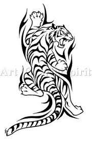 tribal tiger tattoos gallery