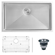 30 Kitchen Sinks by Ruvati Rvh7300 Undermount 16 Gauge 30