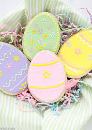 easter cookies easter egg sugar cookies with royal icing