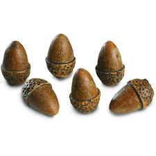 amazon com peterson gas logs decorative acorns set of 6 home