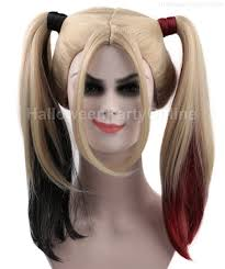 white halloween wigs harley quinn wig super power beat down hw 157 us 26 99