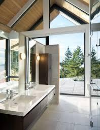 modern design meets natural beauty in an island retreat western