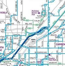 Sacramento Light Rail Map System Maps Sacramento Regional Transit