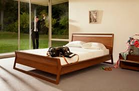 double bed single contemporary with headboard woodrow