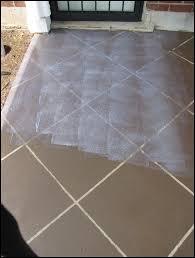 How To Paint A Tile Floor Bathroom - new u201ctile u201d patio floor reveal beneath my heart