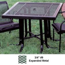 patio table sets metal patio table national outdoor furniture