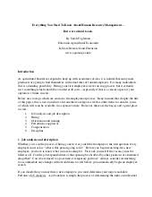 head of project management recommendation letter