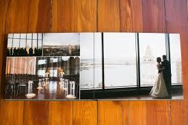 Photo Album Wedding Boston Flush Mount Wedding Album Designer Zev Fisher Creates