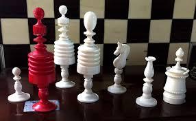 Chess Set Ii Barleycorn Chess Set