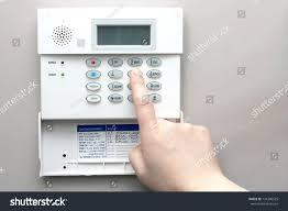 home security alarm system keypad stock photo 134306525 shutterstock