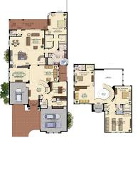Atrium Ranch Floor Plans Glhomes Vizcaya At Seven Bridges