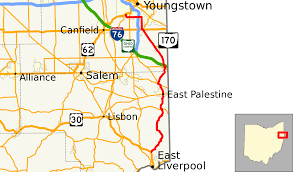 Map Of Youngstown Ohio by Ohio State Route 170 Wikipedia