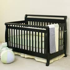 Convertible Crib Bed Rails by Davinci Emily 4 In 1 Convertible Baby Crib In Ebony W Toddler