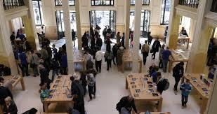 Apple Store Paris Apple Store Stock Footage Video Shutterstock