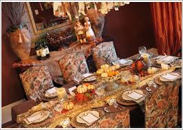 extensive thanksgiving home decorating ideas for dining room
