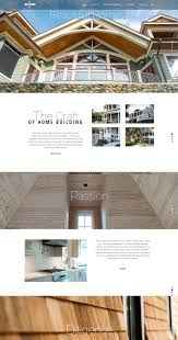 home builder design consultant responsive website launched for new york based luxury home builder