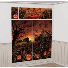 cemetery scene setters halloween wall decorating kit amazon com