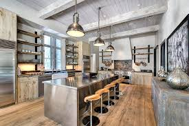 stainless kitchen island industrial design wood kitchen contemporary with painted wood