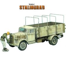 opel truck ww2 veh007 winter opel blitz truck toy soldiers club