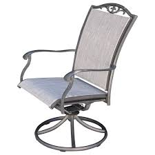 agio melbourne by agio outdoor swivel rocker chair with woven
