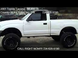 2001 to 2004 toyota tacoma for sale 2001 toyota tacoma regular cab 4wd for sale in connellsvil